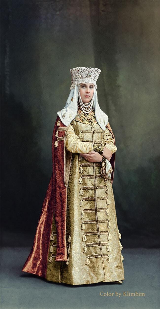 Графиня Елизавета Мусина-Пушкина, урожденная Капнист