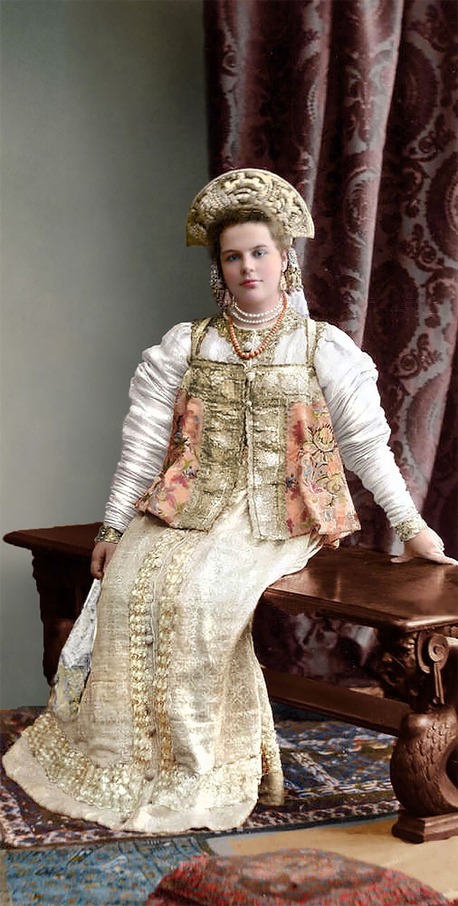 Княжна Варвара Александровна Долгорукая
