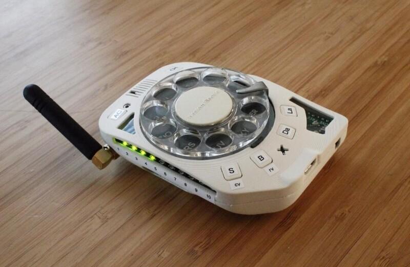 Сотовый телефон с дисковым набором — почему бы и нет?