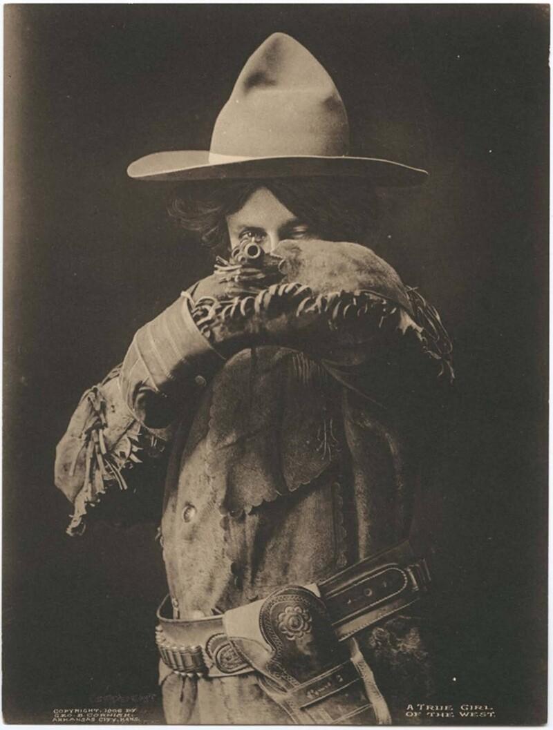 """""""Настоящая дама Запада"""", Техас, 1906 год"""
