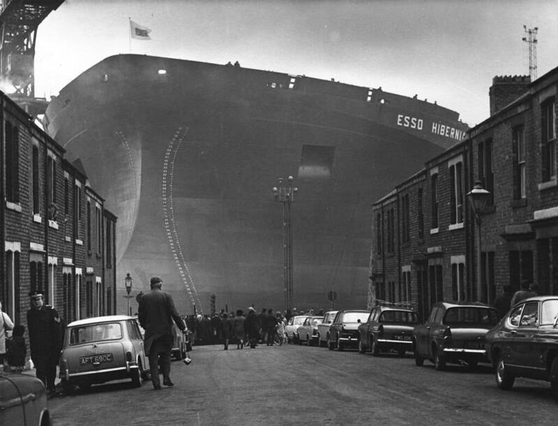 1. Строительство танкера Esso Hibernia, 1970 год