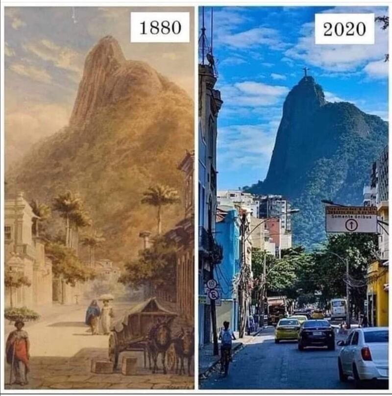 20фотосравнений, которые помогут взглянуть наисторию по-новому