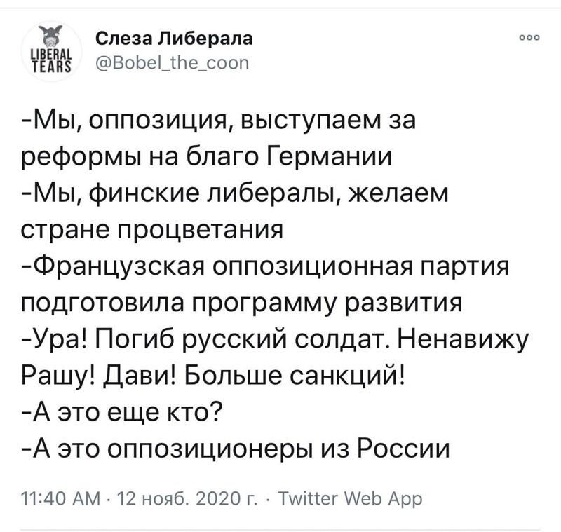 """Вся суть нашей """"оппозиции"""""""