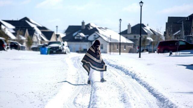В Техасских морозах виноваты русские