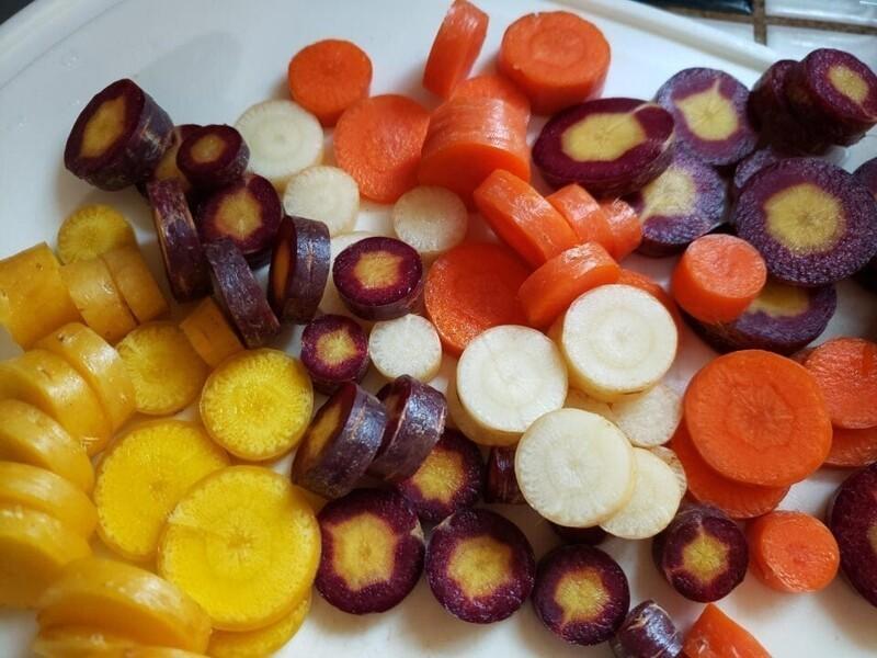 Такие разные цвета моркови
