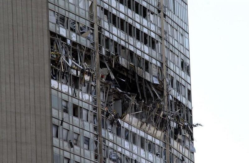 Не11-м сентября едины: 15катастрофических моментов столкновения домов сссамолетами