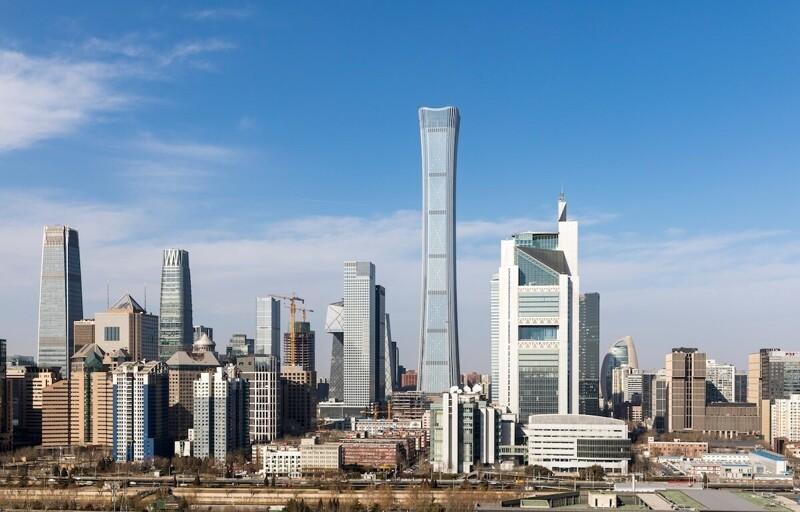 9. Чайна-Цзунь (528 м). Пекин, Китай