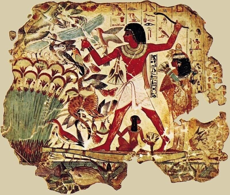 3причины, покоторым египтяне изображали людей плоскими итолько впрофиль