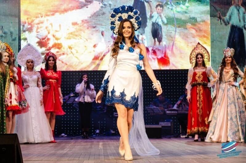 """Фото с конкурса """"Краса Донбасса 2021"""". Никаких вышиванок и гопаков. Русский стиль во всей красе."""