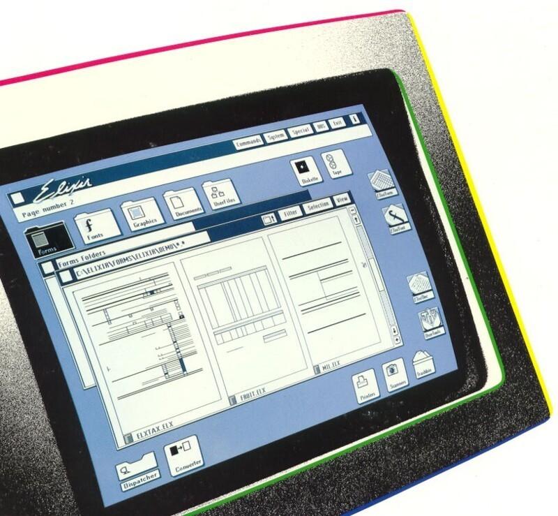 Каквыглядела самая первая ОСсграфическим оконным интерфейсом