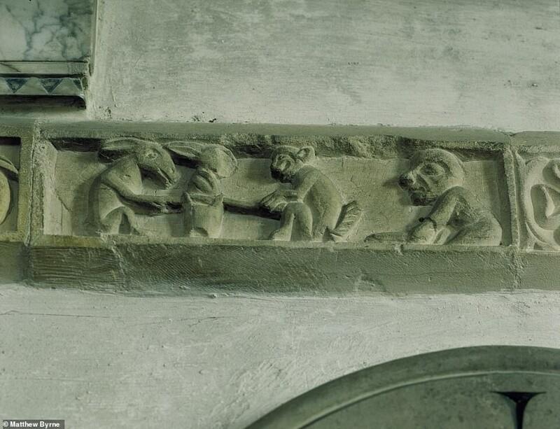 Сокровища английских церквей: окно висторию