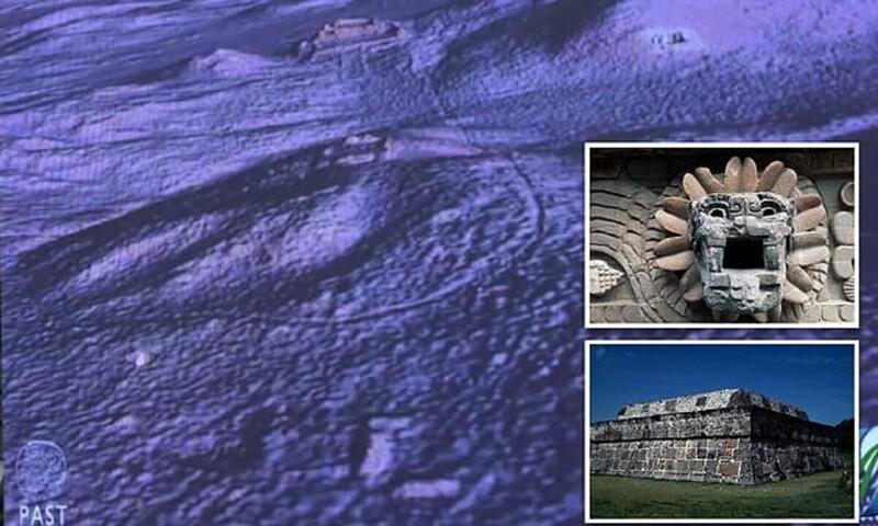 Вдревнем городе майя нашли иностранное посольство