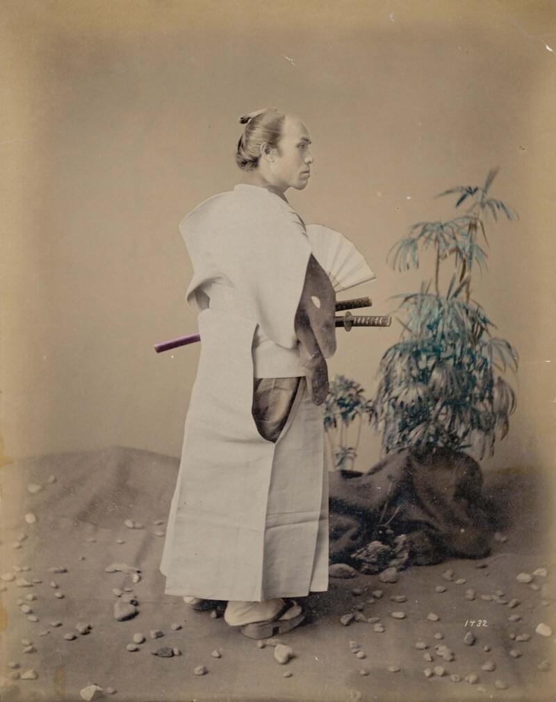 Последние японские самураи: фотографии вцвете, 1860-1900 гг