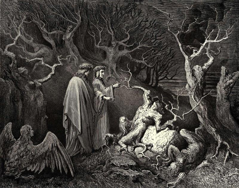 Круговерть делгреховных: вчемистинная суть «Божественной комедии» Данте?