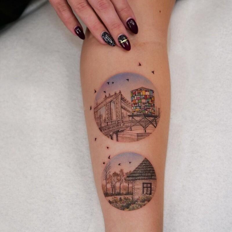 Тонкая работа: изысканные татуировки Евы Карабудак