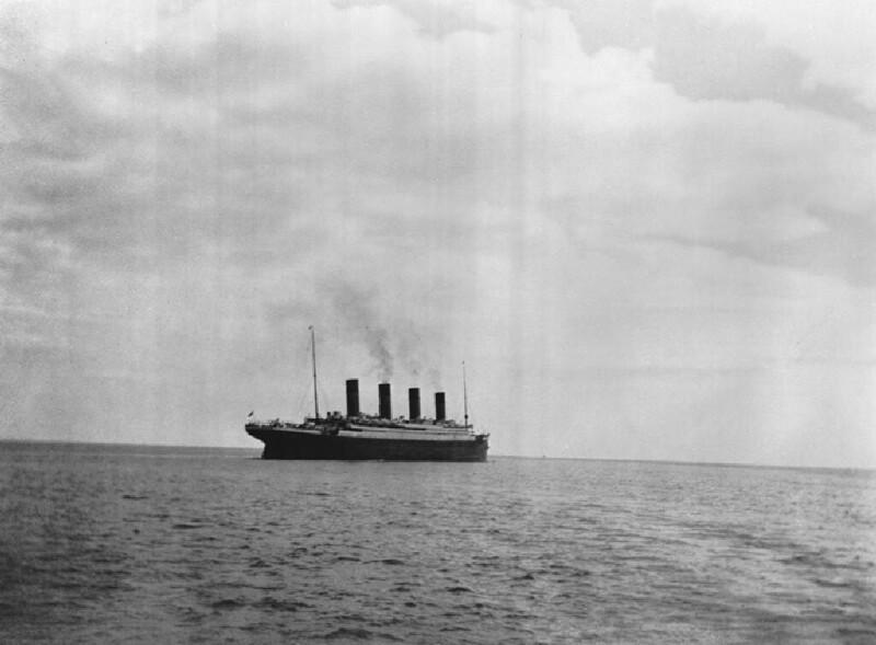 """Последний снимок """"Титаника"""", 1912 г."""