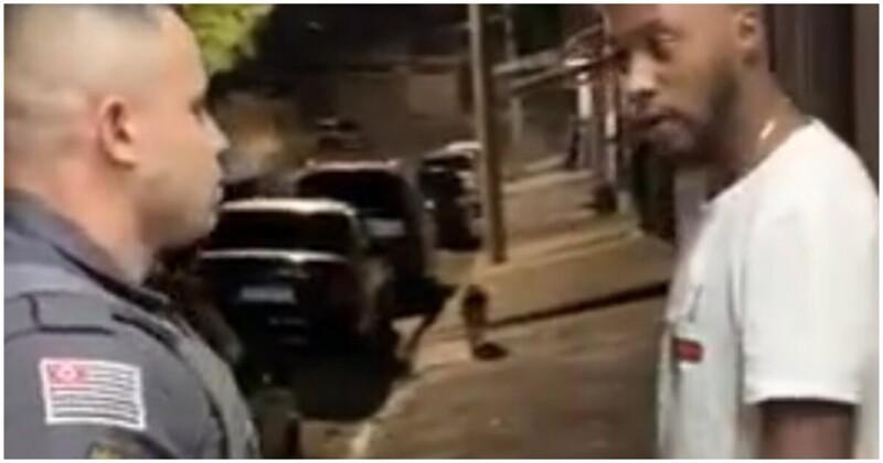 Не стоило грубить полицейскому
