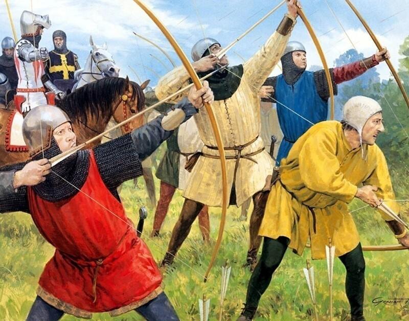Сколько стрел могвзять ссобой набитву средневековый лучник