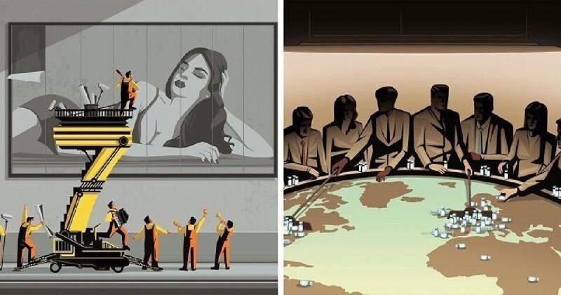 30 глубоких иллюстраций, наводящих на размышления о жизни