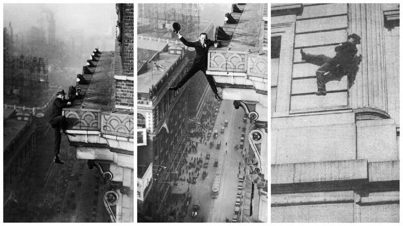"""Гарри Гардинер: """"человек-муха"""", который не боялся высоты"""