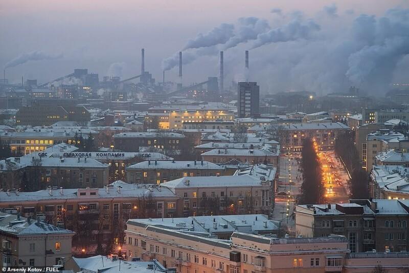Фотограф исследует просторы бывшего СССР